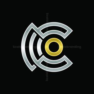 Connection Logo Letter C Luxury