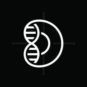 Dna Letter D Logo