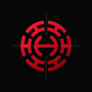 Ambigram H Letter Logo