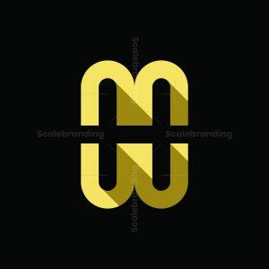 Letter H Or Mw Logo