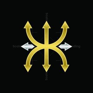 Trident Double K Logo