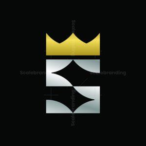 King Letter S Logo