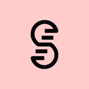 Stair Letter S Logo