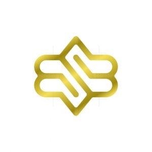 Music S Letter Logo