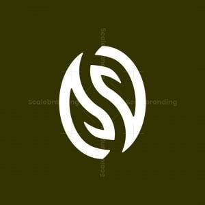 Letter S Natural Coffee Logo