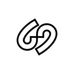 Monogram 69 Or S Logo