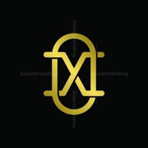 Letter Xo Minimalist Logo