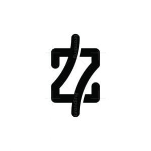 Letter Z Or Double Seven Logo