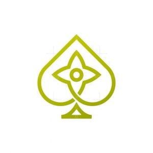 Eye Star Spade Logo