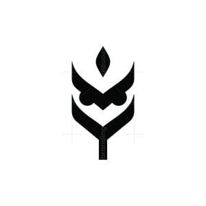 Wheat Owl Logo