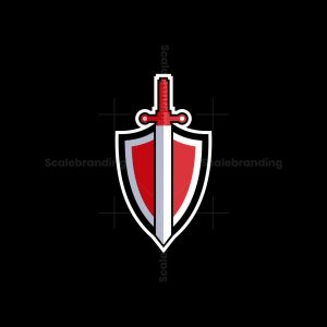 Shield And Sword Logo