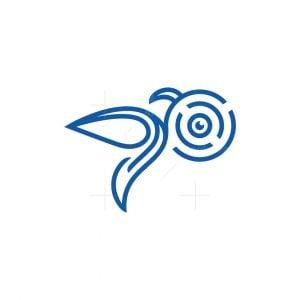 Surveillance Hummingbird Logo
