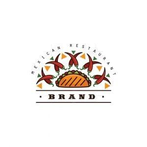 Tacos Mexican Restaurant Logo