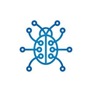 Technology Ladybug Logo