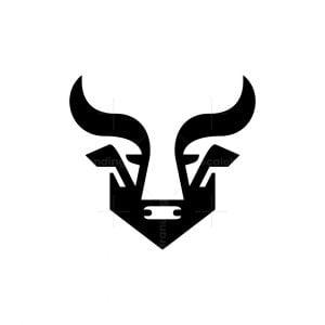 Bull Head Logo Victorious Bull Logo