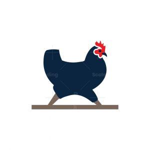Walking Hen Logo