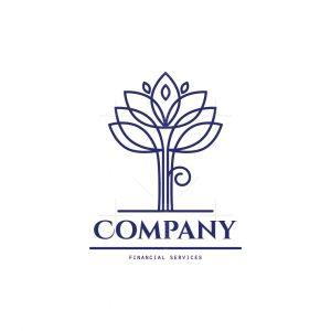 Wealth Management Tree Logo